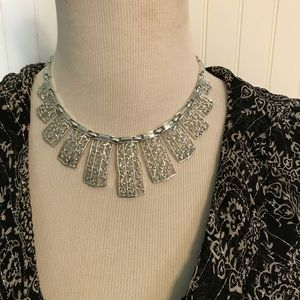 Vintage Sarah Coventry Silver Gorgeous Necklace